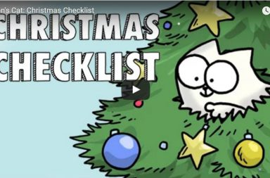 Simon's Cat Christmas Checklist