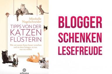 Cover Katzenflüsterin, Logo Lesefreude