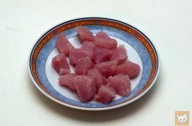 Putenschnitzel (zerkleinert)