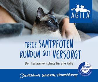 Banner Agila Haustierversicherung