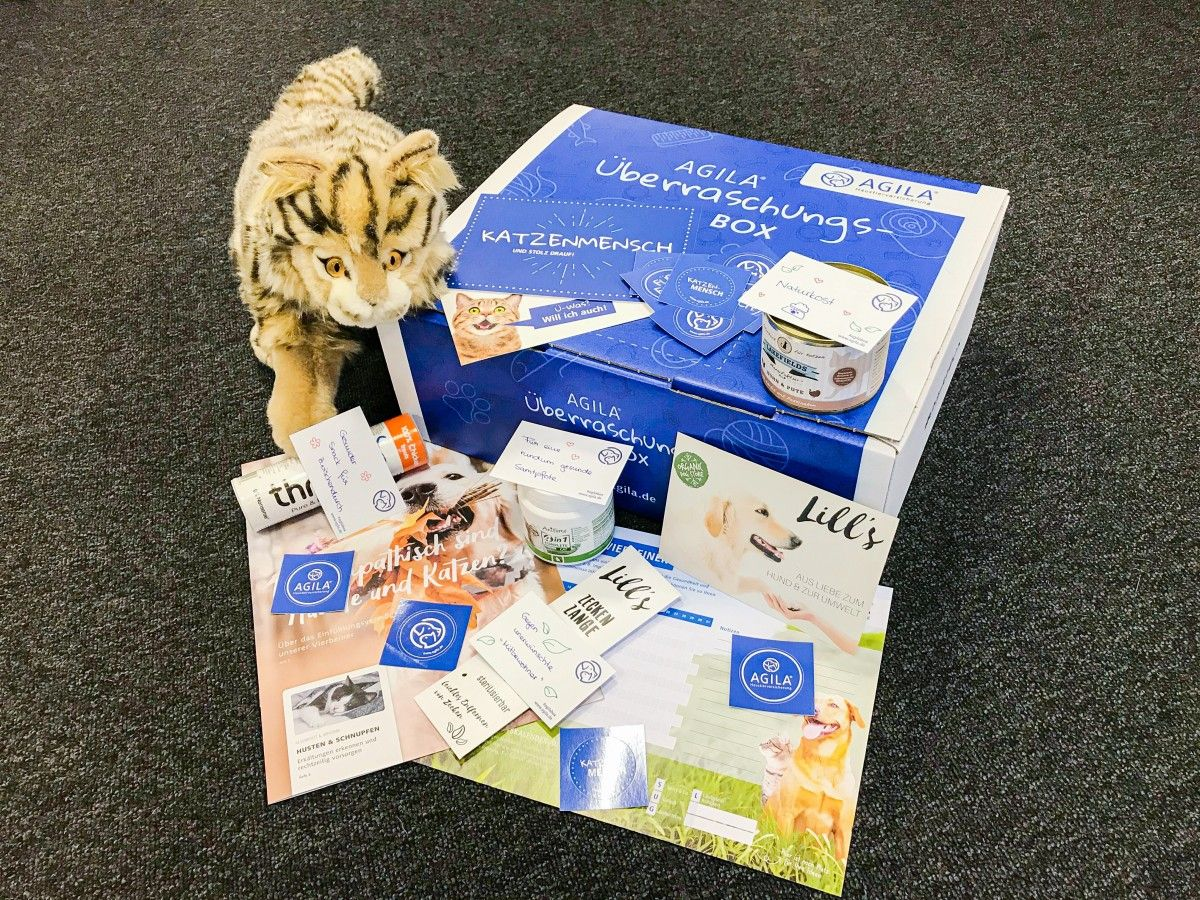Katzen-Vorsorge-Box von AGILA