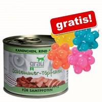 Grau Schlemmertöpfchen & Noppenbälle gratis