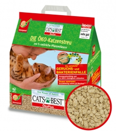 Katzenstreu-Test: Packung Cats Best Öko Plus