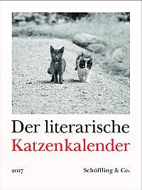 Cover literarischer Katzenkalender 2017