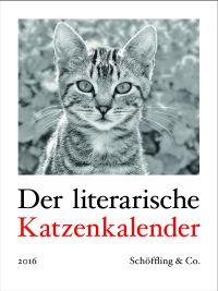 Cover literarischer Katzenkalender 2016