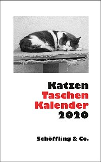 Cover: Katzen Taschenkalender 2020