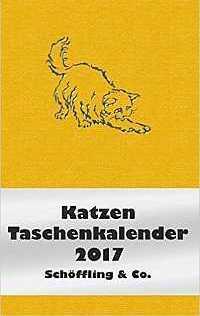 Cover Katzen-Taschenkalender 2017