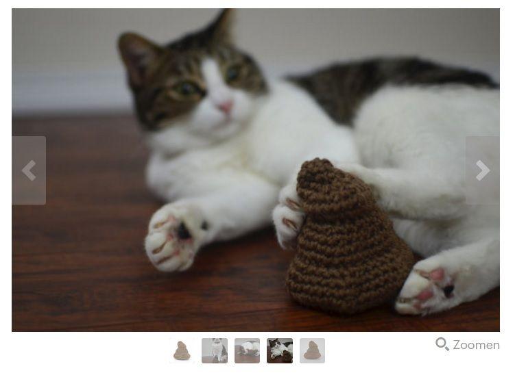 "Katzenspielzeug ""Poop"""
