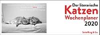 Cover: Der literarische Katzen Wochenplaner 2020
