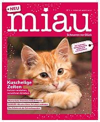 Neues Katzenmagazin Miau Cover