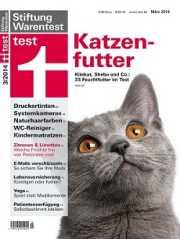 Cover Stiftung Warentest Katzenfuttertest